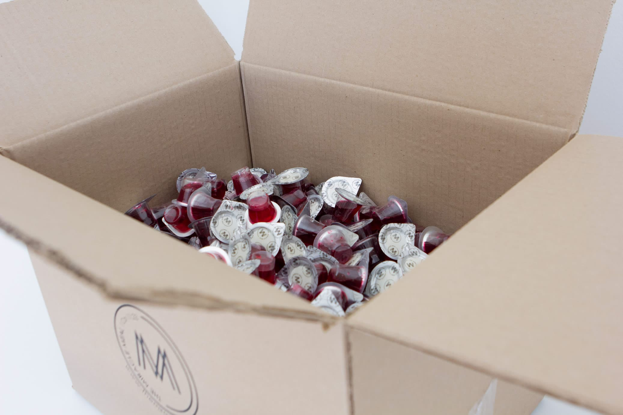 BOX OF 250 PRE PACKAGED COMMUNION CUPS WITH WAFER & JUICE – Canada
