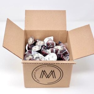 box of refilled communion cups