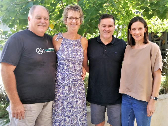 The Miracle Meal team in South Africa