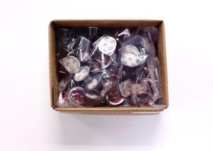 Packaged 100 box pre filled communion cups